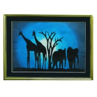 Батик африканский «Лунная ночь»