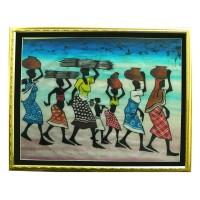 Батик африканский «Обычный день»
