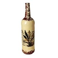 Бутыль декоративная «Цветок»