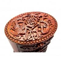 Деревянная шкатулка для украшений «Долголетие»