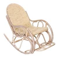 Кресло качалка из ротанга
