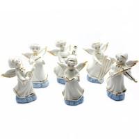 Набор ангелочков из фарфора