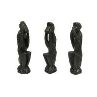 Набор фигурок декоративных «No evil monkeys»