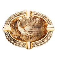 Пепельница «Золотой фазан»
