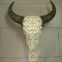 Предмет декорации «Резной череп»