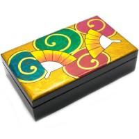 Прямоугольная шкатулка «Драгоценности гейши»