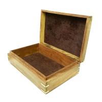 Шкатулка деревянная «Подорожник»
