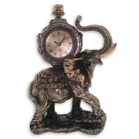 Статуэтка с часами «Слон»