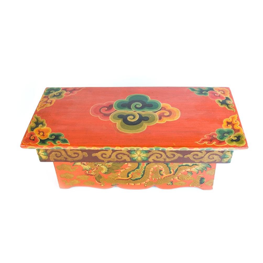 Столик раскладной деревянный «Дракон