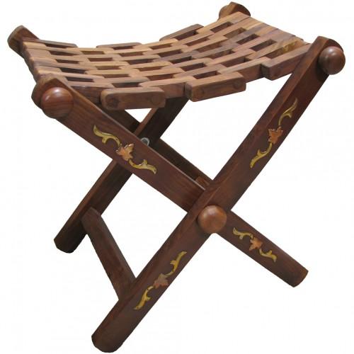 рыбацкий стульчик из дерева