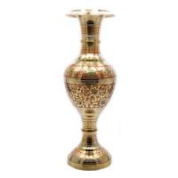 Ваза бронзовая цветная «Цветы Востока»