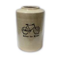 Ваза «Велосипедная прогулка»