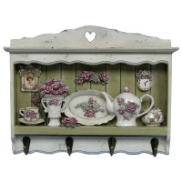 Вешалка для кухонных полотенец «Розы»