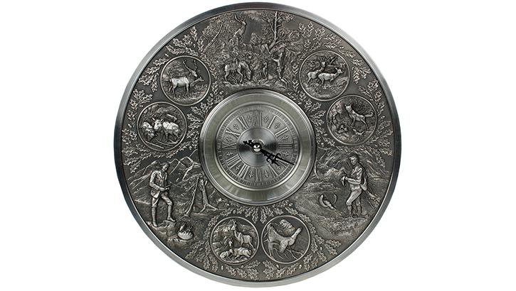 Настенные часы из олова «Вольный стрелок»