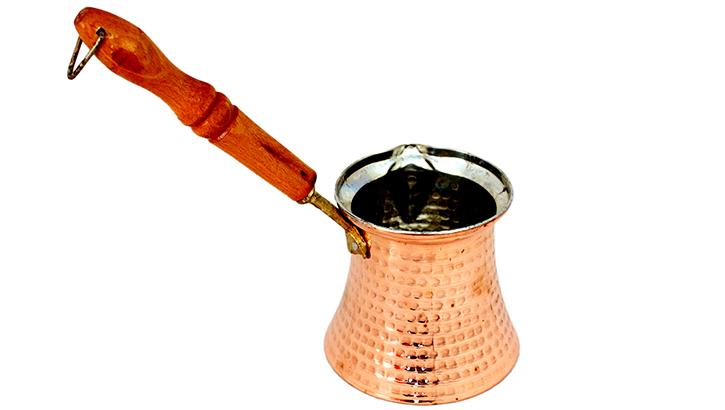 Медная турка для мокко. Destillatio, Испания