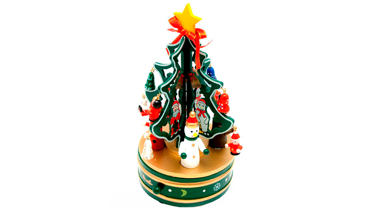 Заводная ёлка «Скоро Новый год»