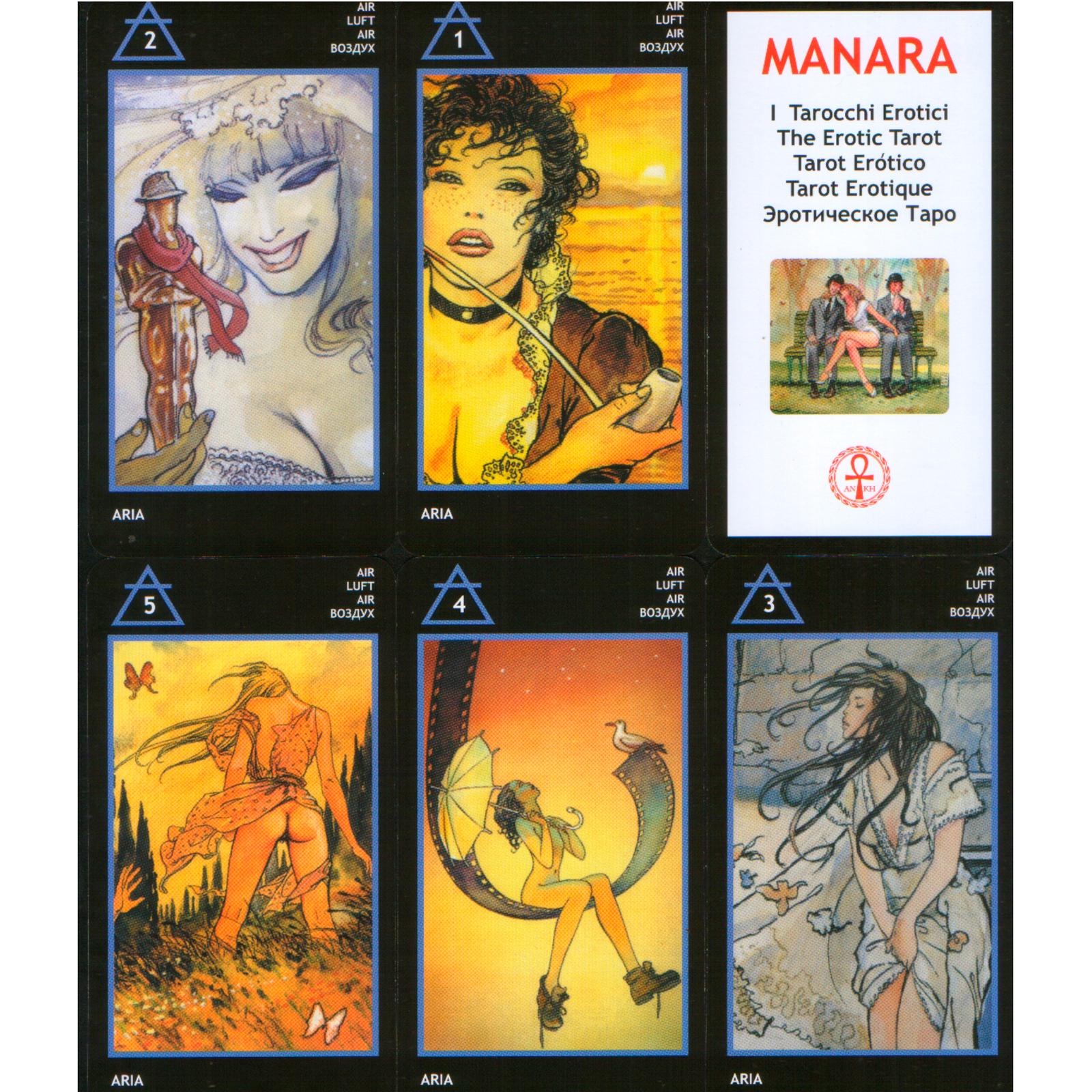 Карты Таро Манара для магического гадания