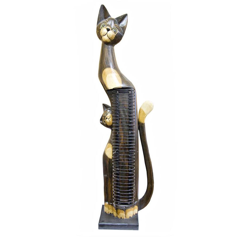 Подставка под CD диски «Кошка с котенком» | купить ...