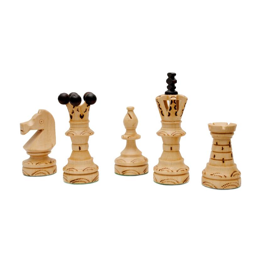 Шахматные фигуры из дерева картинки