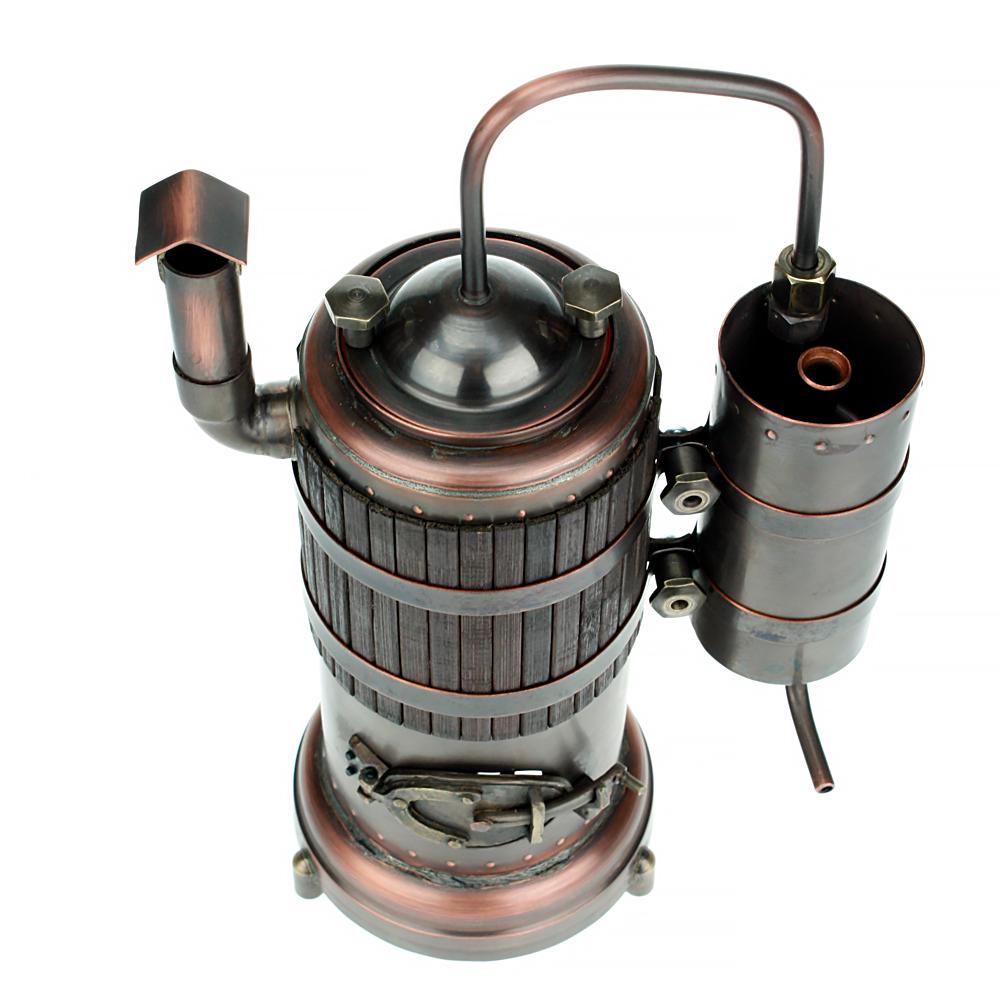 Сувенирный мини-самогонный аппарат самогонный аппарат медь